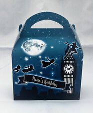 Peter Pan Children's Personalised Party Boxes Favour 1ST CLASS POST