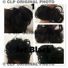 Hair Scrunchie Bun Hairpiece, Elastic, Synthetic, Natural Look Hair Extension