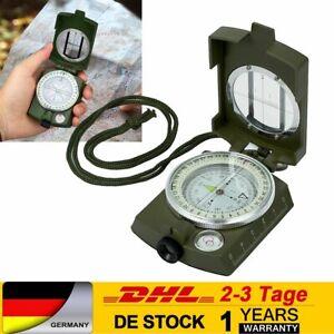 Militär Bundeswehr Marschkompass Armeekompass + Tasche für Camping, Wanderung