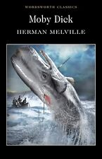 Moby Dick Herman Melville Wordsworth Paperback Book New Free UK Postage