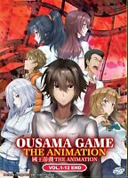 Ousama Game / King's Game ( Vol. 1-12 End ) ENGLISH DUBBED AUDIO SHIP FROM USA