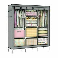 175X130CM Kleiderschrank Wohnzimmer Garderobe Faltschrank Modern Kleiderschrank