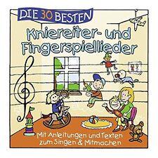 DIE 30 BESTEN KNIEREITER- UND FINGERSPIELLIEDER     Neu und in Folie!