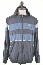 ADIDAS Mens Hooded Jacket Size 40 Medium Multi Polyester Vintage LK03