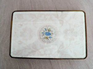VINTAGE LACE & PETIT POINT DRESSING TABLE TRAY