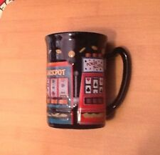 Bally's Casino 3-D Cup Mug with 4 Slot Machines