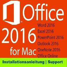 Microsoft Office Home & Business 2016 - Vollversion für Mac W6F-00627