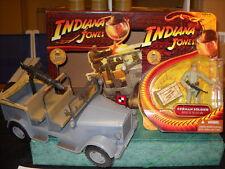 INDIANA JONES GERMAN TROOP CARRIER PLUS DAK SOLDIER 1:18 SCALE. NEW. BOXED
