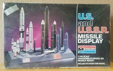 USA And USSR Missile Set MONOGRAM Model Kit 6019 ~New and Sealed