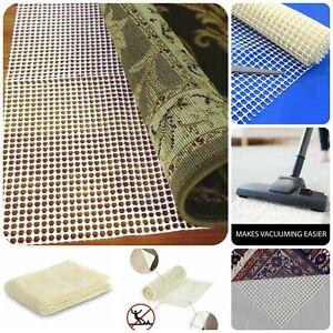 Anti Slip Rug Underlay Mat Gripper Multi Purpose Non Slip Grip Mat in all size