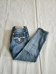 Rock Revival Womens Stretch Jeans Blair Skinny Size 29 29x26