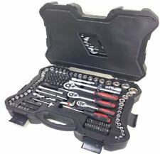 Kraftwelle 215Pc Socket Set Screwdriver Bit Torx Rachet Driver Tool Kit Box Case