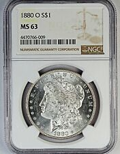 1880-O NGC MS 63 United States Morgan Silver Dollar