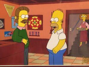 Simpsons Original production cel