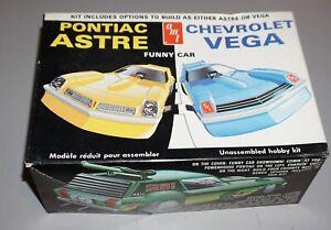 Pontiac Astre or Chevrolet Vega Funny Car AMT 1/25 Complete & Unstarted.