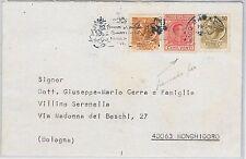 ITALIA REPUBBLICA  Storia Postale: MARCA DA BOLLO Regno usato su BUSTA 1975