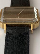 Vintage Omega De Ville Manual Wristwatch Gold Plated, Stainless Steel Back