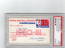 1980-81 Kevin McHale Debut/10 Points  PSA Ticket/Pass Boston Celtics