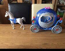 Cinderella Barbie Magic Pumpkin Carriage & Horse + Light Up Princess Doll!