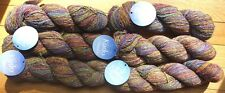 Plymouth Kudo Yarn Cotton Silk Worsted 53 Watercolor Multi 187 Yds per Skein New