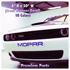 1950-2017 Dodge Mopar Challenger Bumper Decal New 1PC 10 Colors Hellcat Ram SRT-