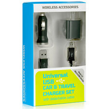 NEW 3in1 for Original LG G2 G3 Wall Charger Car Charger Micro USB Data Cable Kit