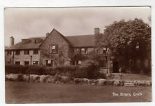 DERBYSHIRE, CRICH, THE BRIARS, LARGE HOUSE, RP