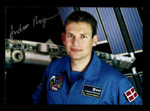 Andreas Mogensen Astronaut Weltraumfahrt Original Signiert # BC 176009