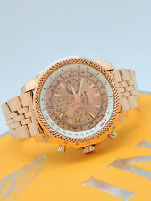Breitling Bentley Solid 18k Rose Gold Watch H25362 Limited Edition #12 of 50