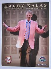 Harry Kalas Philadelphia Phillies 2009 Wall of Fame Photo Print SGA 8/7/09 Excel