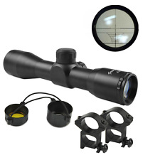 Compact  Rifle Reticle Sight Scope 4X32 Mil-Dot Rangfinder For Hunting Optics