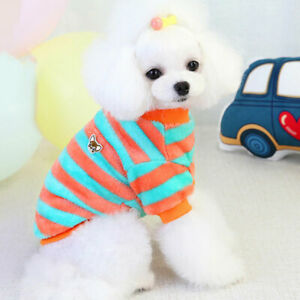 Winter Dog Clothes Puppy Pet Clothes Fleece Clothing Coat  For Small Dogs Jacket