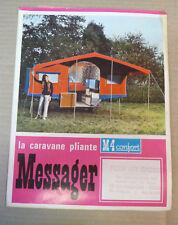 depliant la caravane pliante messager M 4 confort 1969