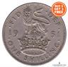 1937 1951 ENGLISH Silver Shilling Coin George VI Grades Fine to Fair