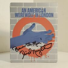An American Werewolf in London (Blu-ray Disc, 2014, Limited Edition) Autographed