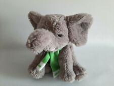 * Schmusetier Kuscheltier - Teddy Hermann Elefant grau Granulatfüllung ca. 25cm