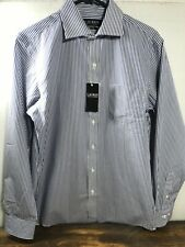 $70 Men's Ralph Lauren Black Label classic fit No iron BLUE ST 15-1/2 34 shirt