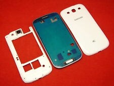 Samsung Galaxy S3 i9300 Gehäuse Cover LCD Display Rahmen Akkudeckel Middle Frame