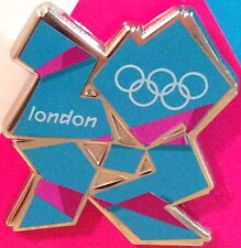 LONDON 2012 Olympic Games MASCOT Games LOGO PIN Blue & Pink VENUE COLLECTION New