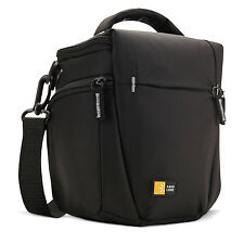 Case Logic TBC-406 DSLR Black Camera Holster - Top Loading Padded Protective Bag