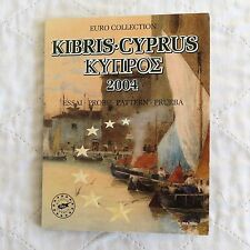 CYPRUS 2004 8 COIN EURO PROTOTYPE PATTERN COLLECTION - sealed pack