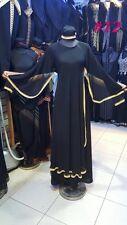 Stile Dubai Abaya Caftano Farasha Maxi Abito Abaya + Hijab Sciarpa {}