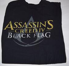 Assassin's Creed Black Flag Black Medium M Tee T-Shirt
