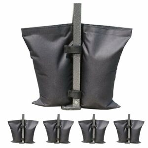 4X Gazebo Tent Sandbag Canopy Pop Up Garden Toys Large Weight Outdoor Waterproof