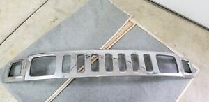 Grille Chrome Fits 06-10 HUMMER H3 with light include it ...!