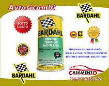 ENGINE TUNE UP AND FLUSH BARDAHL - TRATTAMENTO RIMUOVI DEPOSITI, GOMME E VERNICI