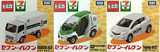 Tomy Tomica Toyota Vitz, Auto Body Coms, ISUZU ELF 7-eleven Vehicle Set