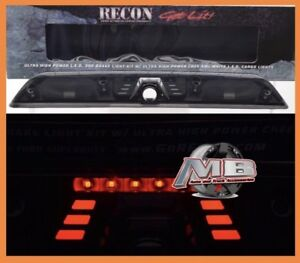 NEW 2017 2018 Ford F-250 F-350 Super Duty Smoke Lens LED BAR Third Brake Light