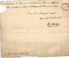 [Bill of Rights] Carlisle, PA, Anti-Federalist William Petrikin--Autograph