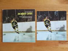 """BOSTON BRUINS """"the two sides of BOBBY ORR"""" Record / Album w 11x11 Poster"""